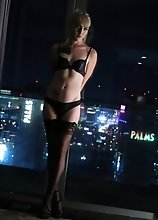 Lena Kelly poses nearly nude on the balcony admiring the city views, while you get to admire her ass in these photos! Fuck the city view right? I bet