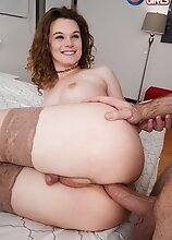 Watch gorgeous Nicole Knight getting her tight ass pounded hard by King Epicleus' big dick in this smoking hot hardcore scene!